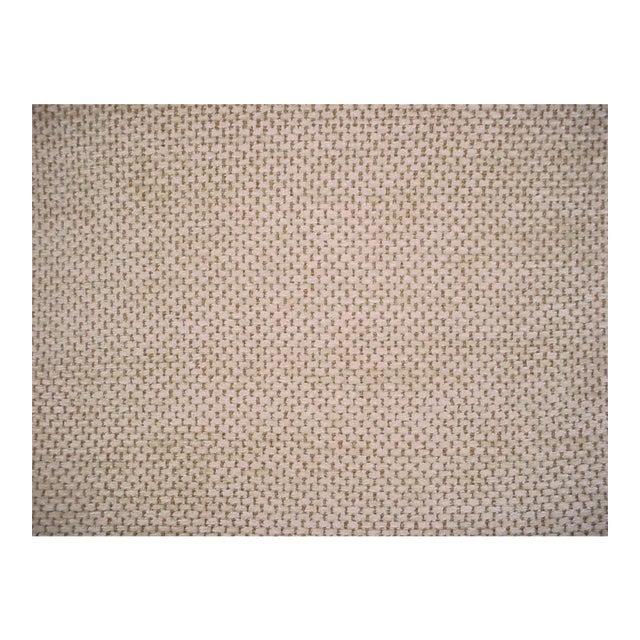 Schumacher Mafalda Chamois Beige Plush Chenille Upholstery Fabric- 3 Yards For Sale