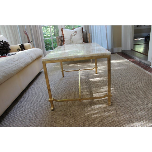 Currey and Co Coffee Table - Image 2 of 8