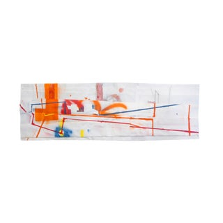 "Peter Soriano ""l.i.c. (Orange)"", Mixed Media For Sale"