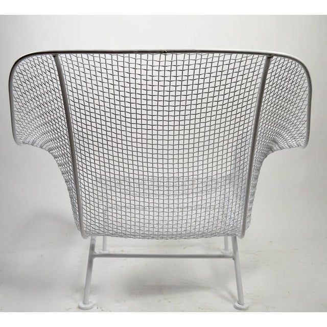 Pair of Woodard Lounge Chairs Freshly Powder Coated For Sale In New York - Image 6 of 9
