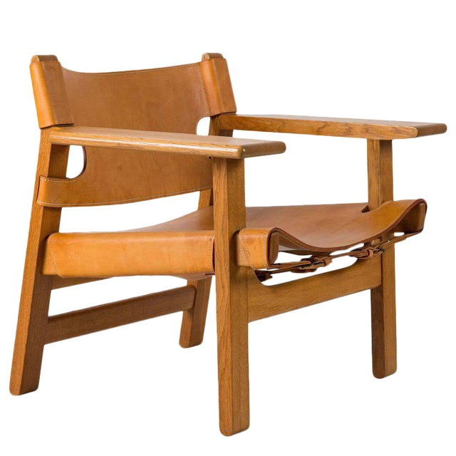 "Børge Mogensen ""Spanish"" Chair - Image 1 of 10"