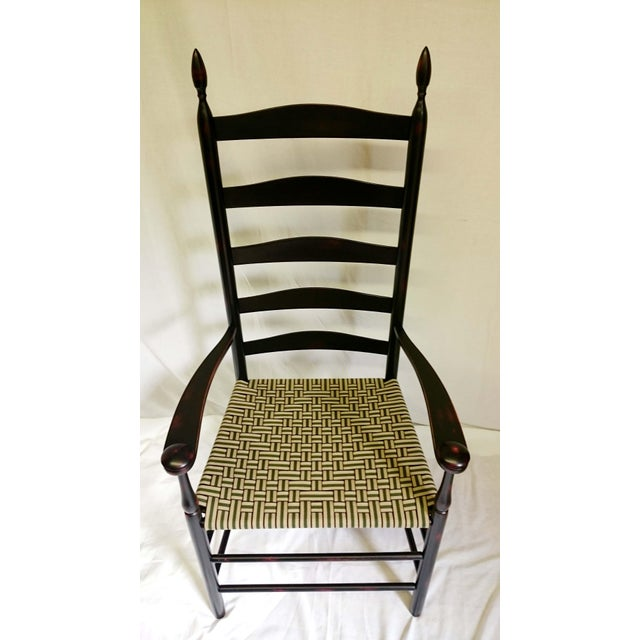 Wood Reproduction Shaker Elder's Chair For Sale - Image 7 of 11
