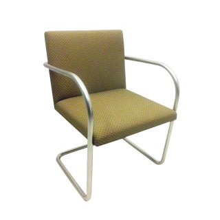 Replica Knoll Brno Tubular Side Gold Brick Chair For Sale