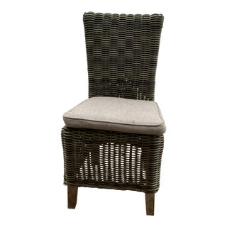 Wicker Outdoor Dining Chair For Sale