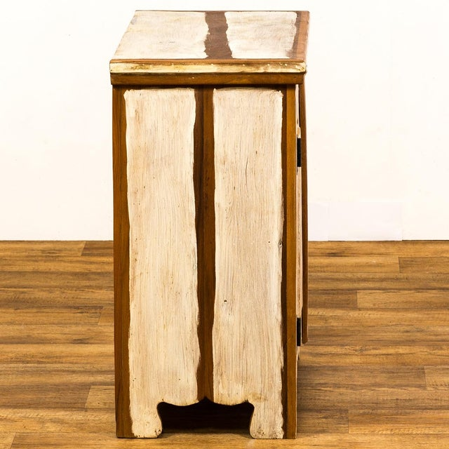 Recycled/Repurposed Reclaimed Wood Cabinet For Sale - Image 7 of 8