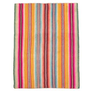 Peruvian Frazada Rug / Blanket VI For Sale