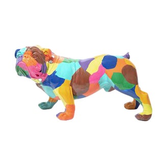 "Interior Illusions Plus Artist Bulldog - 30"" Long For Sale"