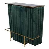 Image of Sarreid Green Regal Bar For Sale