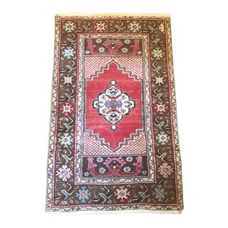 Vintage Mid-Century Persian Rug - 3′6″ × 5′8″ For Sale