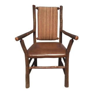 Old Hickory Arm Chairs - Set of 4
