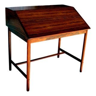 Mid-Century Modern Scandinavian Secretary Desk in Rio Rosewood, 1960s For Sale
