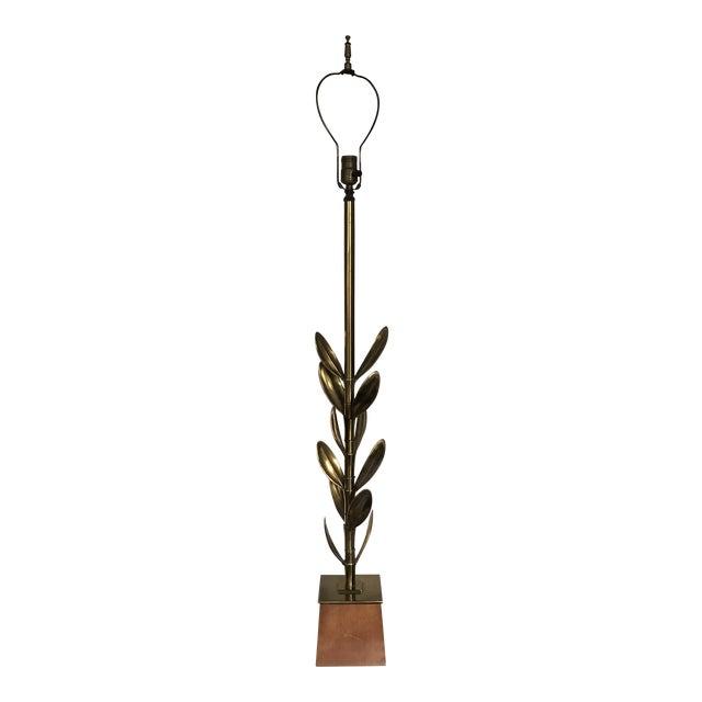 Leaf Lamp by Stiffel For Sale