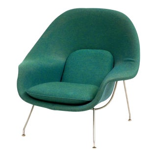 Womb Chair by Eero Saarinen for Knoll in Original Knoll Fabric, 1970s For Sale