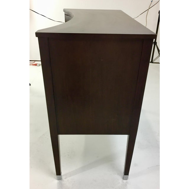 Modern History Home Modern History Brown Concave Front Chest For Sale - Image 4 of 7
