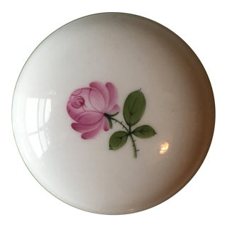 Wien Rose Motif Porcelain Jewelry Dish