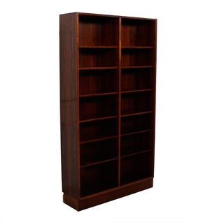 Danish Modern Rosewood Adjustable Shelves Bookcase Preview