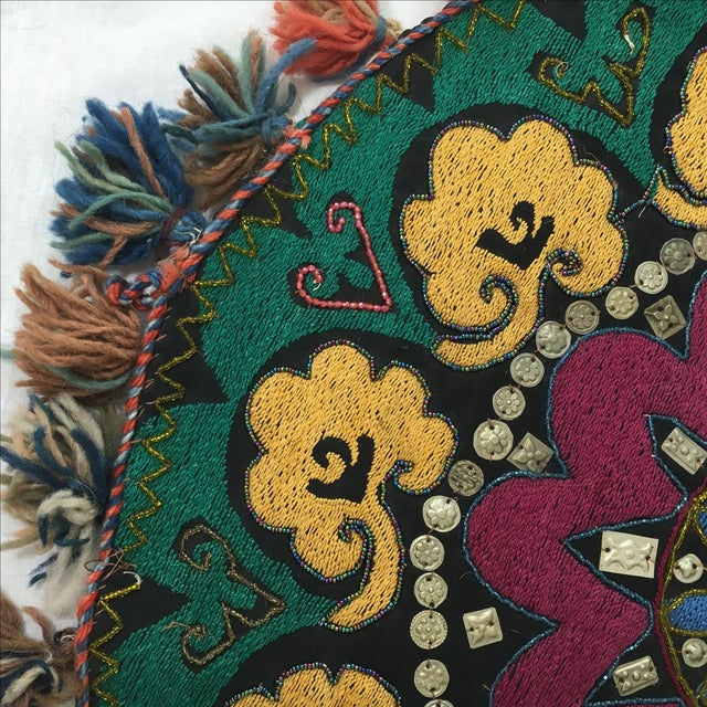 Ethnic Wall Medallion Tapestry - Image 3 of 8