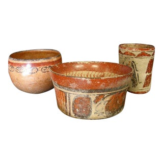 Classical Period Pre-Columbian Vessels For Sale