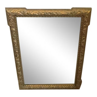 Baroque Gold Frame Mirror For Sale