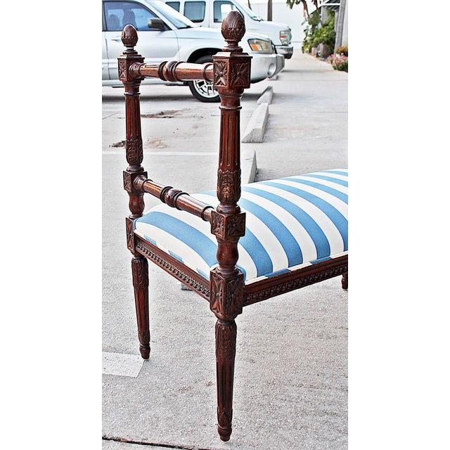 Louis XVI Style Bench - Image 7 of 7