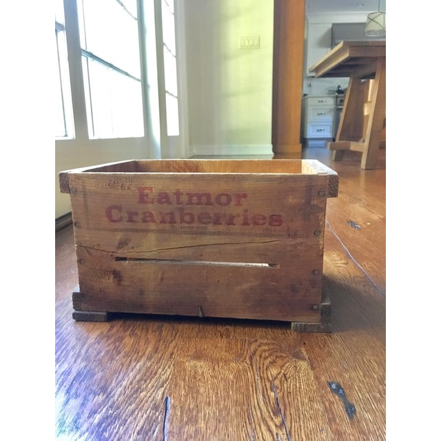 This charming, warm, authentic vintage crate is a great nostalgic piece for anyone who has spent time or dreams of...