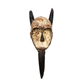 "African Dan Bird Mask W/ Beak Liberia 22.5"" H For Sale"