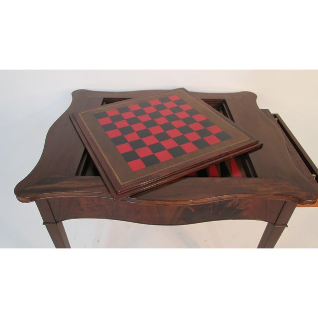 1940s Beacon Hill Collection Game Table For Sale - Image 9 of 10
