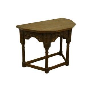 "1920's Gothic Oak Jacobean 33"" Accent Console Table Preview"