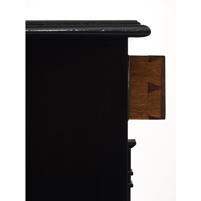 Ebonized Directoire Style Buffet For Sale - Image 9 of 11