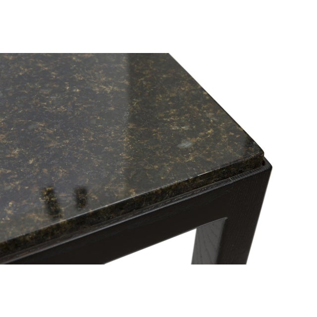 Marble Top Side Table For Sale - Image 4 of 4