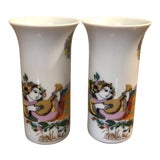 Image of Pair of Cordial Glasses by Bjorn Wiinblad For Sale