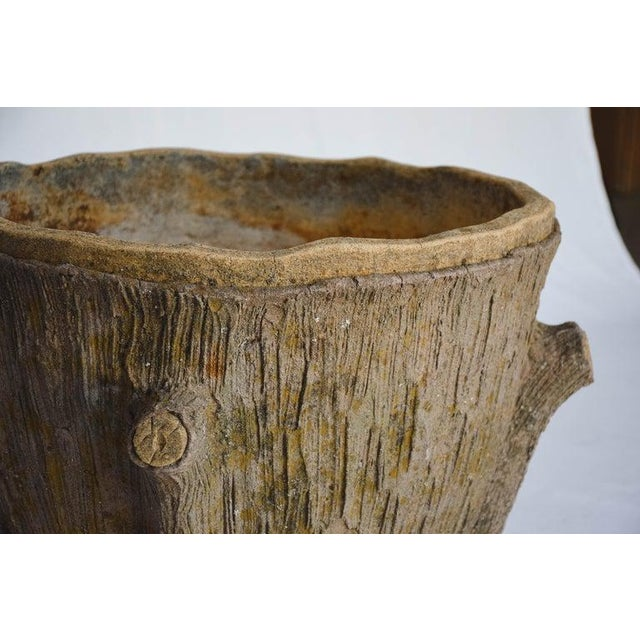 Mid 20th Century Faux Bois Planter For Sale In Houston - Image 6 of 13