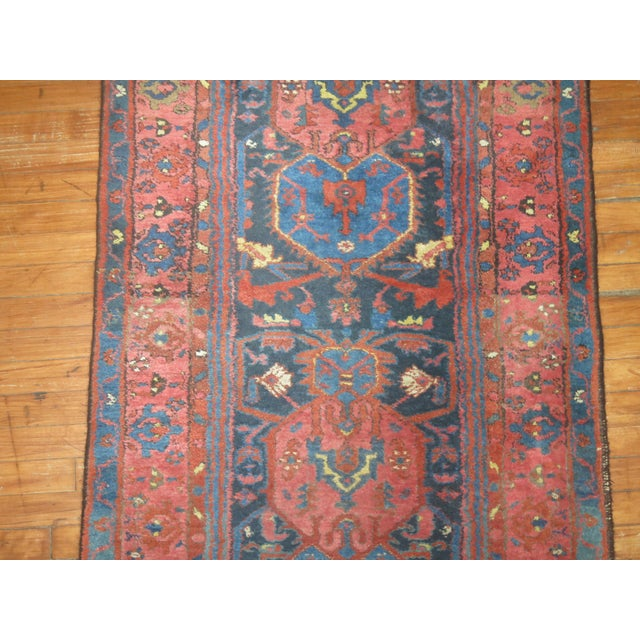 Vintager Persian Runner - 3′ × 16′ - Image 4 of 5