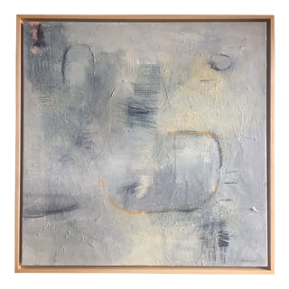 Original Modern Abstract Painting Titled 'First String' For Sale