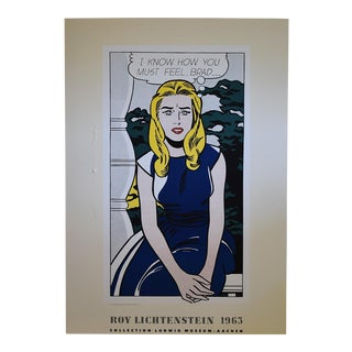 Roy Lichtenstein I Know How You Must Feel, Brad … 1963 For Sale