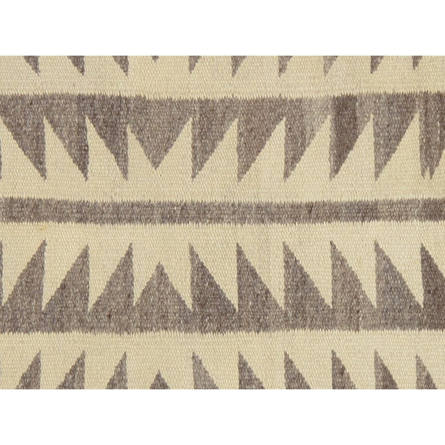 "Native American Vintage Navajo Rug, 2'8""x3' For Sale - Image 3 of 7"