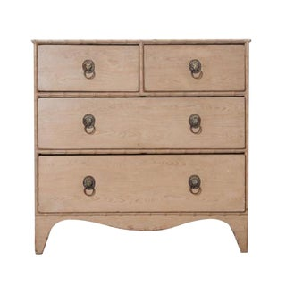 Late 19th-Century English Chest of Drawers With Faux Finish For Sale