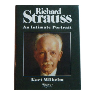 Vintage Book Richard Strauss an Intimate Portrait Wilhelm For Sale