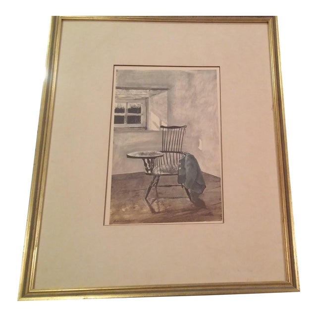 "1961 Andrew Wyeth ""Early October"" Drawing For Sale"