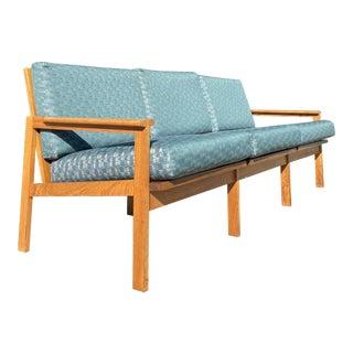 Beautiful Mid Century Modern Three Seater Sofa For Sale
