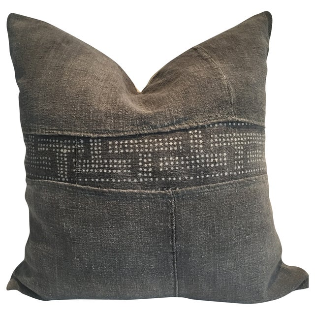 Kate Vintage Mud Cloth Pillow - Image 1 of 2