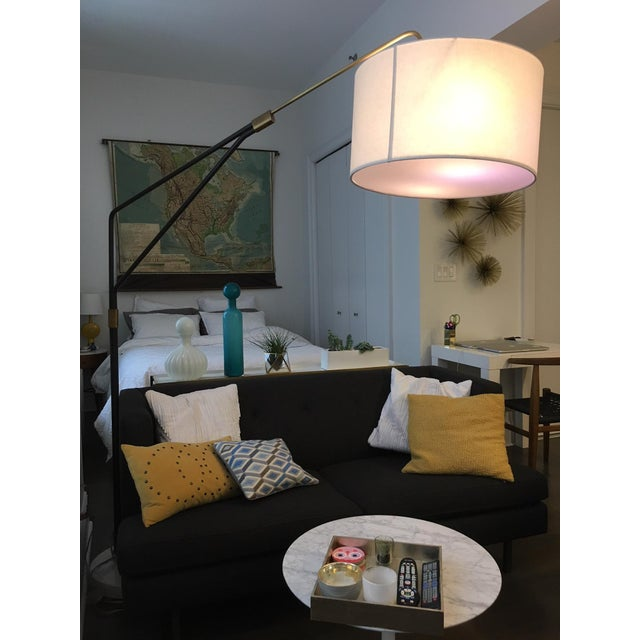 Mid-Century Style Arc Floor Lamp - Image 2 of 5