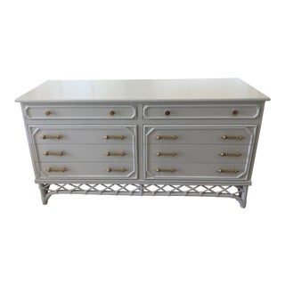 Ficks Reed White Gloss Lacquer Finish Dresser For Sale