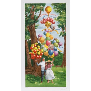 Vic Herman, the Balloon on Top Please, Lithograph For Sale