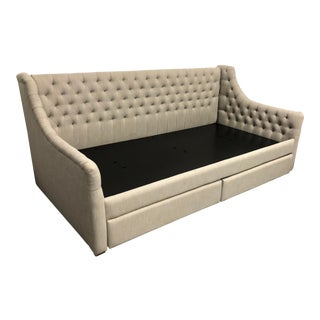 Restoration Hardware Devlyn Storage Day Bed For Sale