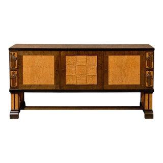 Antique Art Deco Sideboard Attributed to Eliel Saarinen For Sale