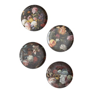 Antwerp Floral Side Plates - Set of 4 For Sale