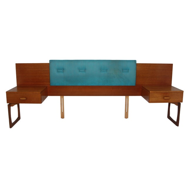 Mid Century Teak Queen Size Headboard by G Plan For Sale - Image 11 of 11