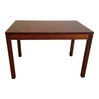 Heggen of Norway Rosewood Side Table For Sale