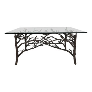 Faux Bois Coffee Table For Sale